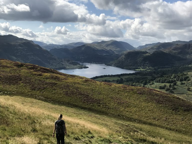 Ullswater Way Gowbarrow Fell View