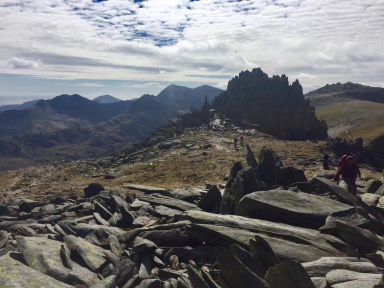 The Glyderau, Cwm Bochlwyd Horseshoe